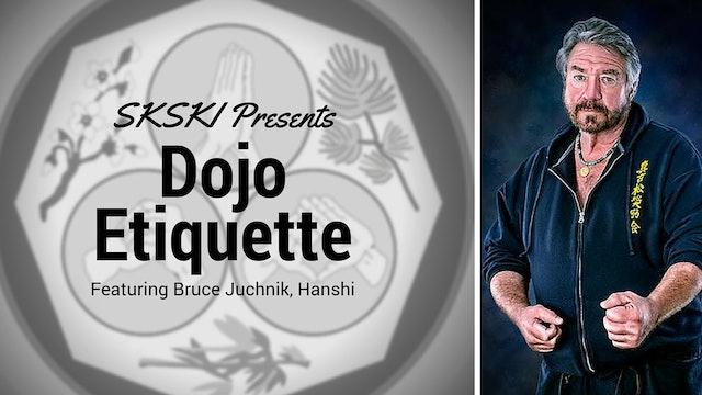 Dojo Etiquette