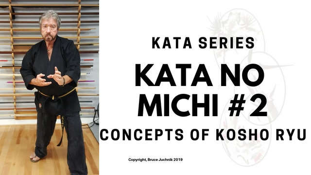 Kata no Michi #2 - Concepts