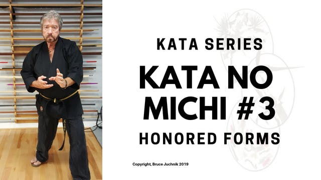 Kata no Michi #3 - Honored Forms of K...