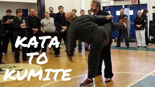 Kata to Kumite