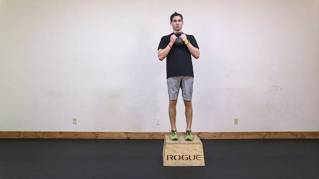 Lean: Goblet Step-Up, Kettlebell Swin...