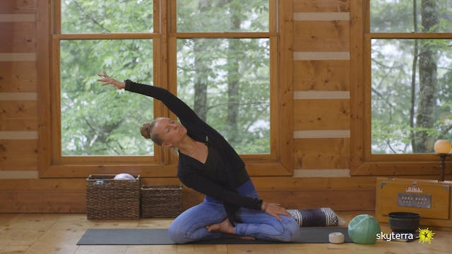 Air Yoga: Introductory Heart-Opening Practice