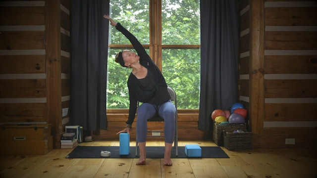 Chair Yoga: A Tension-Melting Seated Practice