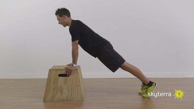 Lean: Lunge, Push-ups, & Medball Sit-ups
