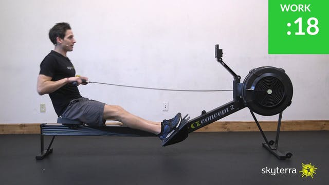 Tabata: Row Machine
