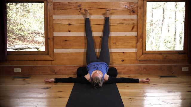 Restorative Yoga: Legs Up The Wall