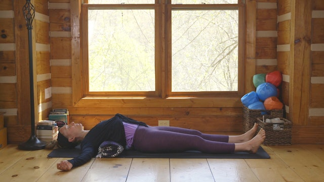 Restorative Yoga: Gentle Blanket Practice