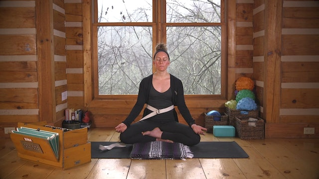 Connect:  Awareness of Body and Breath