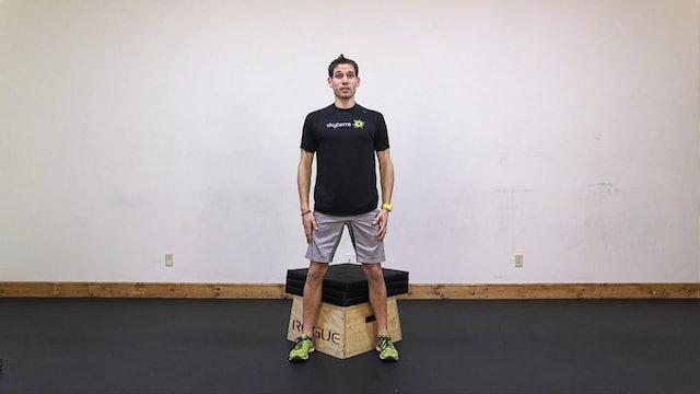 Lean: Renegade Row, Squat, Plank