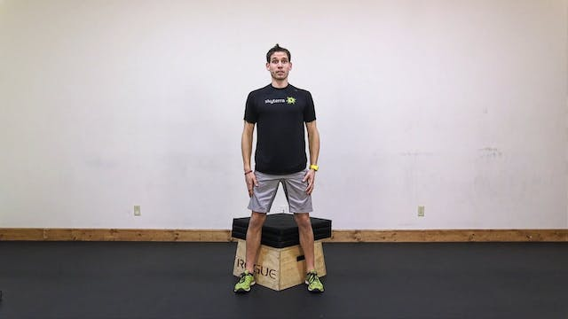 Lean: Renegade Row, Squat, Plank