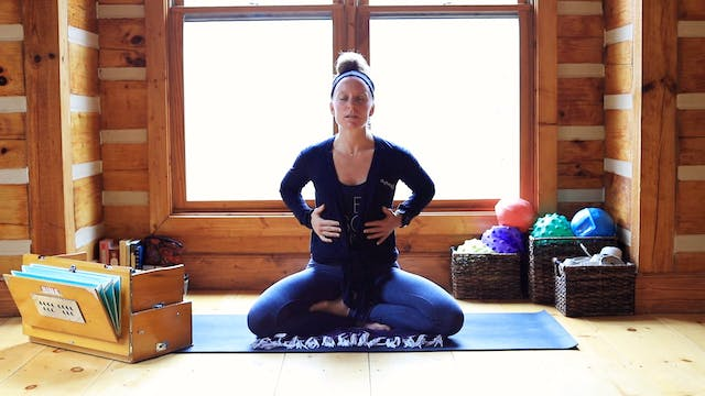 Pranayama: Dirga Breath (Three-Part B...