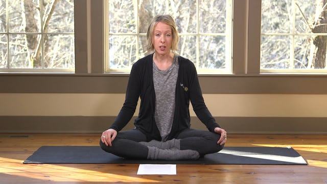 Meditation: Mindfulness with the Body