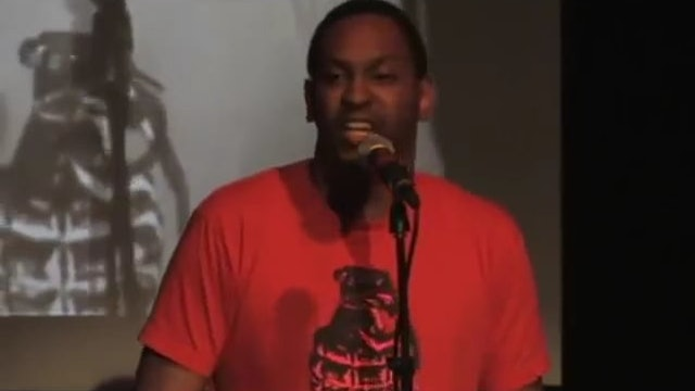 NYC Urbana Poetry Slam Finals 2007 - Rico Steel - 1