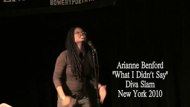 DIVA SLAM 2010 - Arianne Benford
