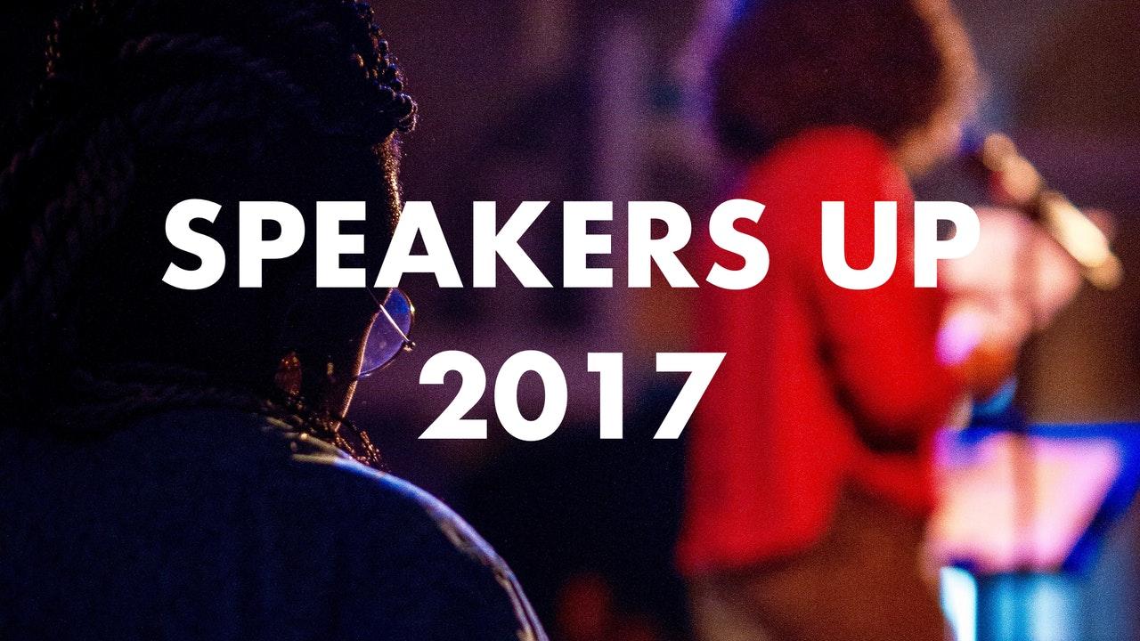 Speakers Up 2017