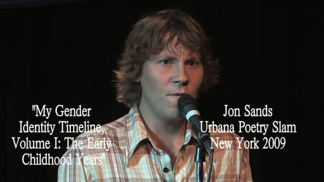 "Jon Sands - ""My Gender Identity Timel..."