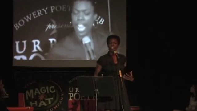NYC Urbana Poetry Slam Finals - Akua Doku