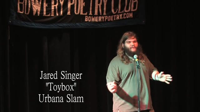 """Jared Singer - """"Toybox"""""""