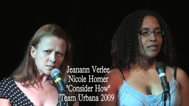 NYC Urbana 2009 - Jeanann Verlee & Ni...