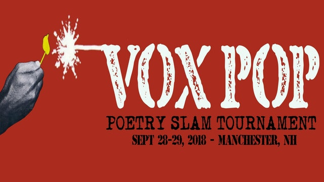 VOX POP 2018 Poetry Slam Tournament