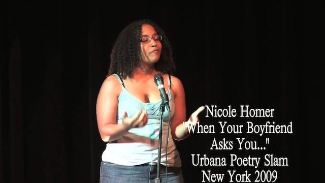 """Nicole Homer - """"When Your Boyfriend A..."""