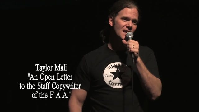 "Taylor Mali - ""An Open Letter to the ..."