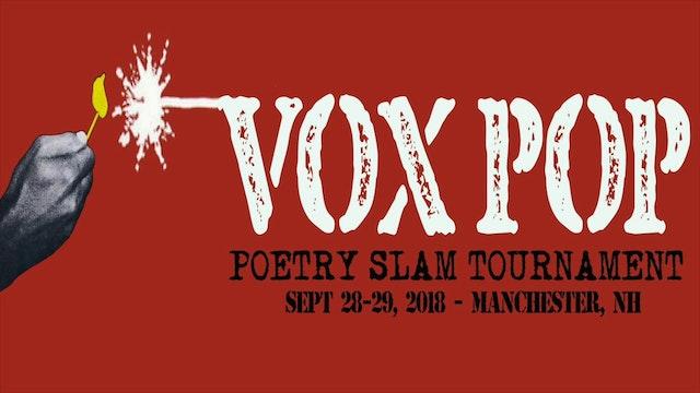 VOX POP 2018 - Individual Poetry Slam