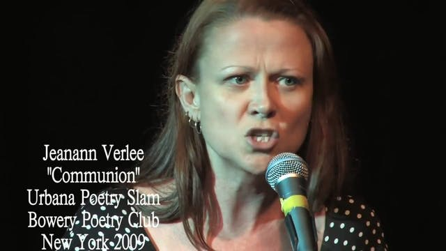 "Jeanann Verlee - ""Communion"""