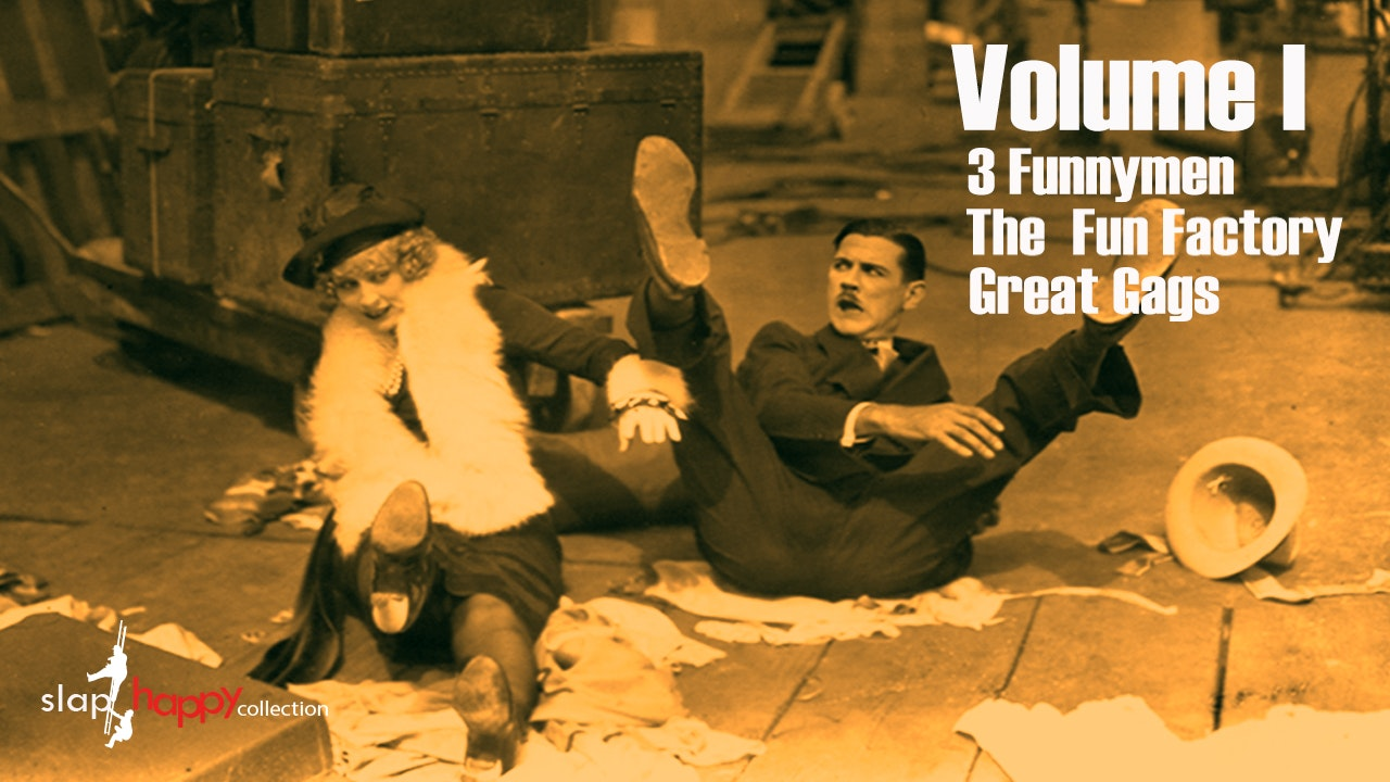 SlapHappy Collection Volume 1: Three Funnymen, The Fun Factory, Great Gags