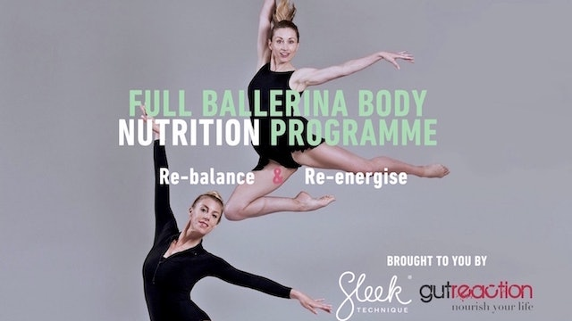 Ballerina Body Nutrition Plan - Ebook