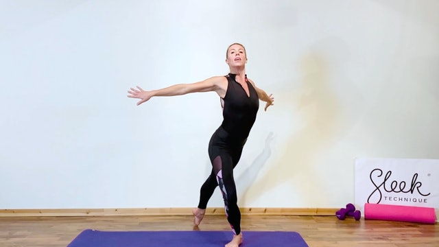 Ballerina Back & Arms - Press