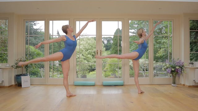 Ballerina Back & Arms - Arabesque