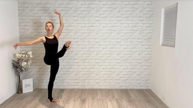 Ballerina body - chassé pas de bouree
