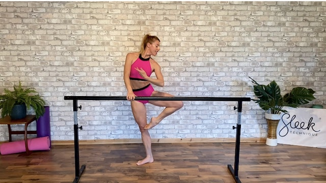 Abs & Booty Cardio Barre - 30mins