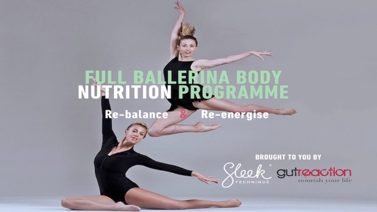 Ballerina Body Nutrition Plan