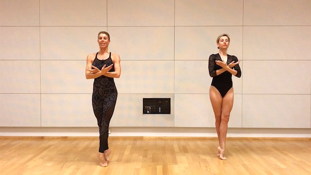 Ballerina Back and Arms - Duo