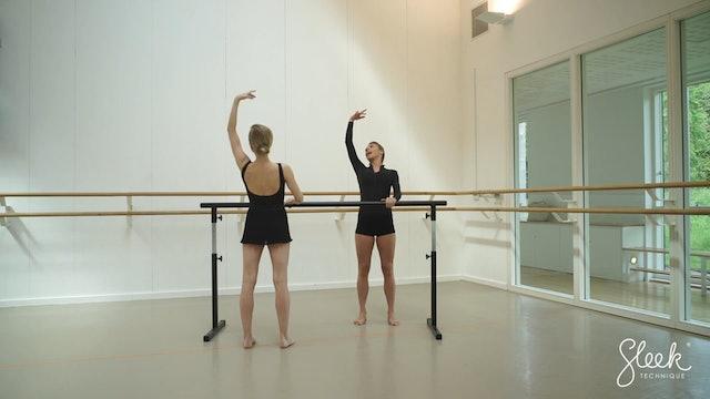 Sleek Barre Technique ™ - Ballerina Shape