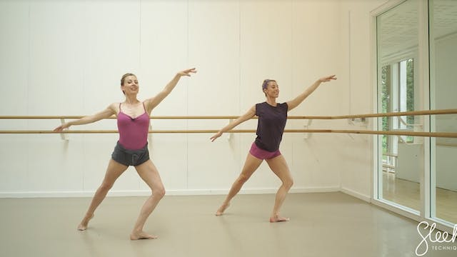 Ballerina back & Arms - Movement