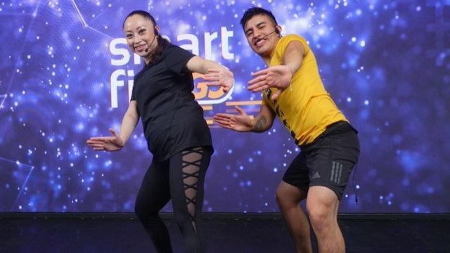 45 min I Quema calorías bailando I Aldo Vivanco y Mónica Cortés I 20/07/21
