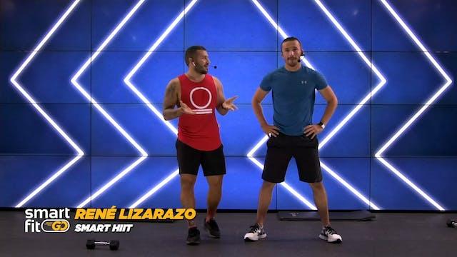 45 min | Quema de grasa | René Lizara...