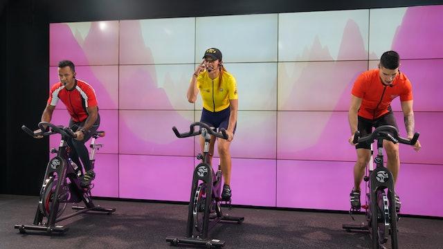 45 min | Cycling | Alejandro, Alexander e Isabel | 06/08/21