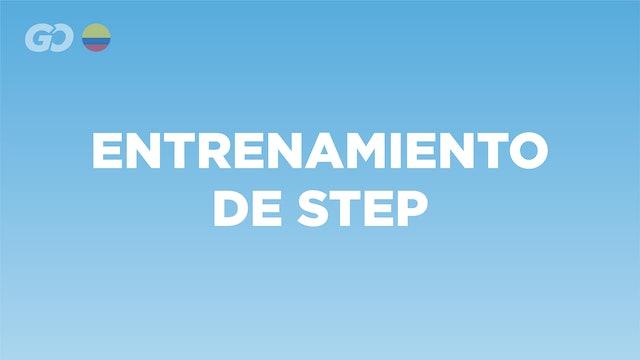 Entrenamiento de Step - COL