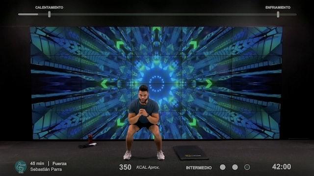 45 min | Entrenamiento funcional | Sebastián Parra 12/02/21