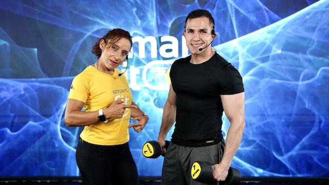 25 min I Quema de grasa I Melissa Reyes y Daniel Lua I 21/09/21