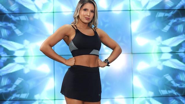 45 min   Glúteos y piernas de acero   Valentina Vélez y Simón Chavarriaga