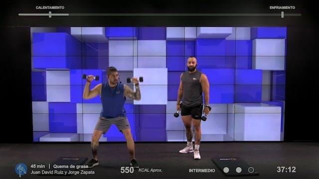 45 min | Quema de grasa | Jorge Zapat...