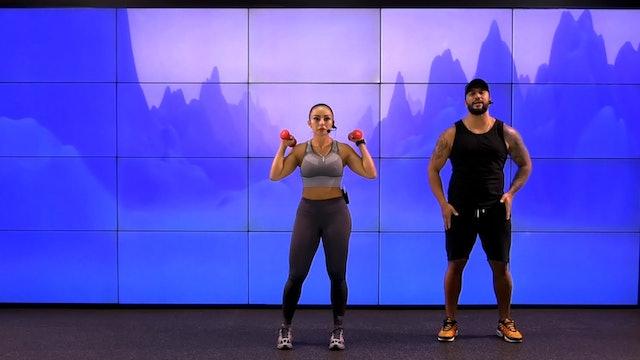 45 min | Quema de grasa | Guillo Garcés y Paola Macías | 19/08/21