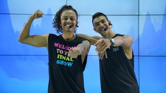 35 min | Quema calorías bailando | Juan Restrepo y Andrés Gil | 16/07/21