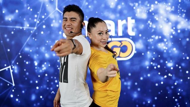 45 min I Quema calorías bailando I Monica Cortés y Aldo Vivanco I 21/09/21