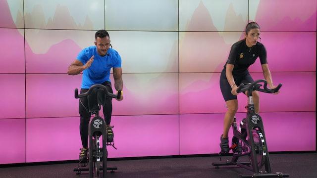 45 min I Cycling I Alexander Álvarez e Isabel Posada I 22/10/21